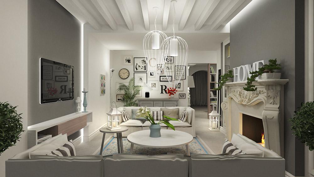 Residenza privata monia marzano - Stile casa moderna ...
